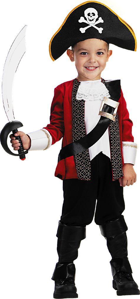 Toddler Boys El Capitan Pirate Costume - Party City | Halloween ...