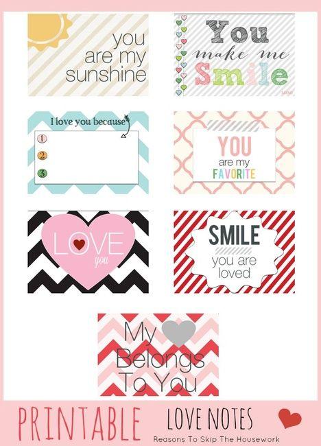 Valentine Smiles Notecards