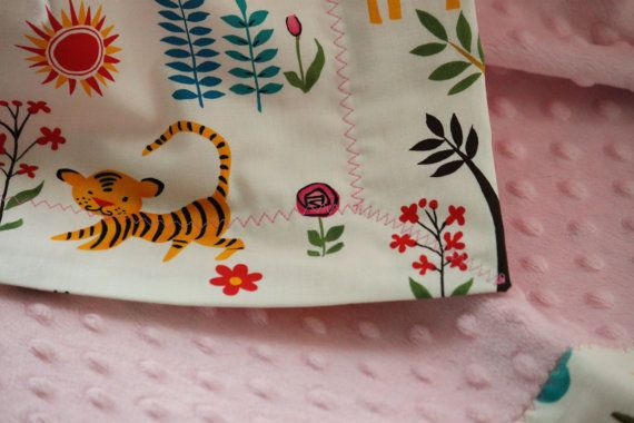 Snuggle Blanket by LukaMish - Juicy Jungle $40
