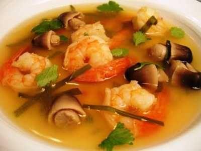 Sup Udang Berikut Ini Ada Cara Membuat Video Resep Sup Udang Galah Tahu Jagung Kuah Bening Seafood Asam Pedas Jamur Brokoli Untuk A Resep Sup Sup Udang Resep