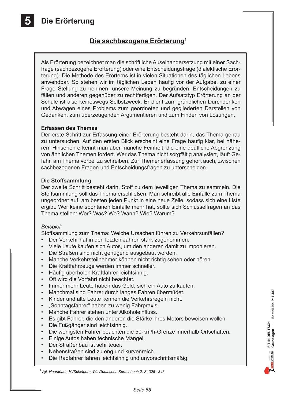 Fit In Deutsch Grundlagen Die Erorterung Unterrichtsmaterial Im Fach Deutsch In 2020 Erorterung Deutsch Unterricht Unterrichtsmaterial