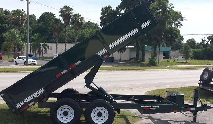 UDump 7X14 14K Dump Trailer For Sale Dump trailers for