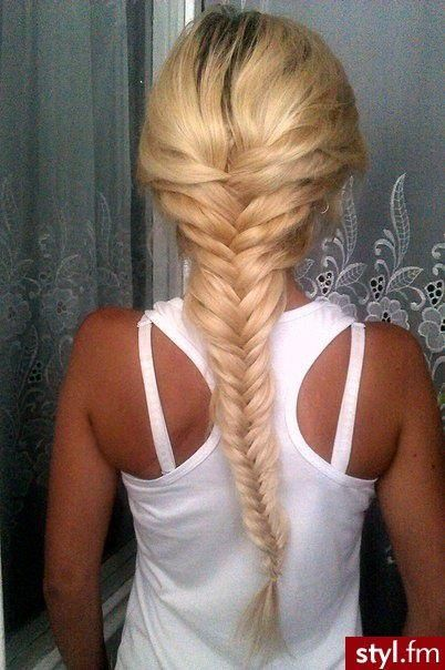 Voluminous Fishtail Braid Start Midway At Your Scalp And Tease