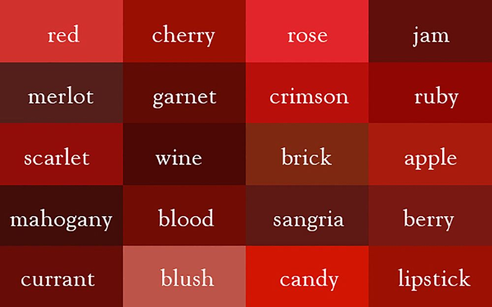 Beautiful Shades Of Brown List