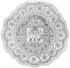 dibujos para colorear dificiles  Mandalas... y relajate ...
