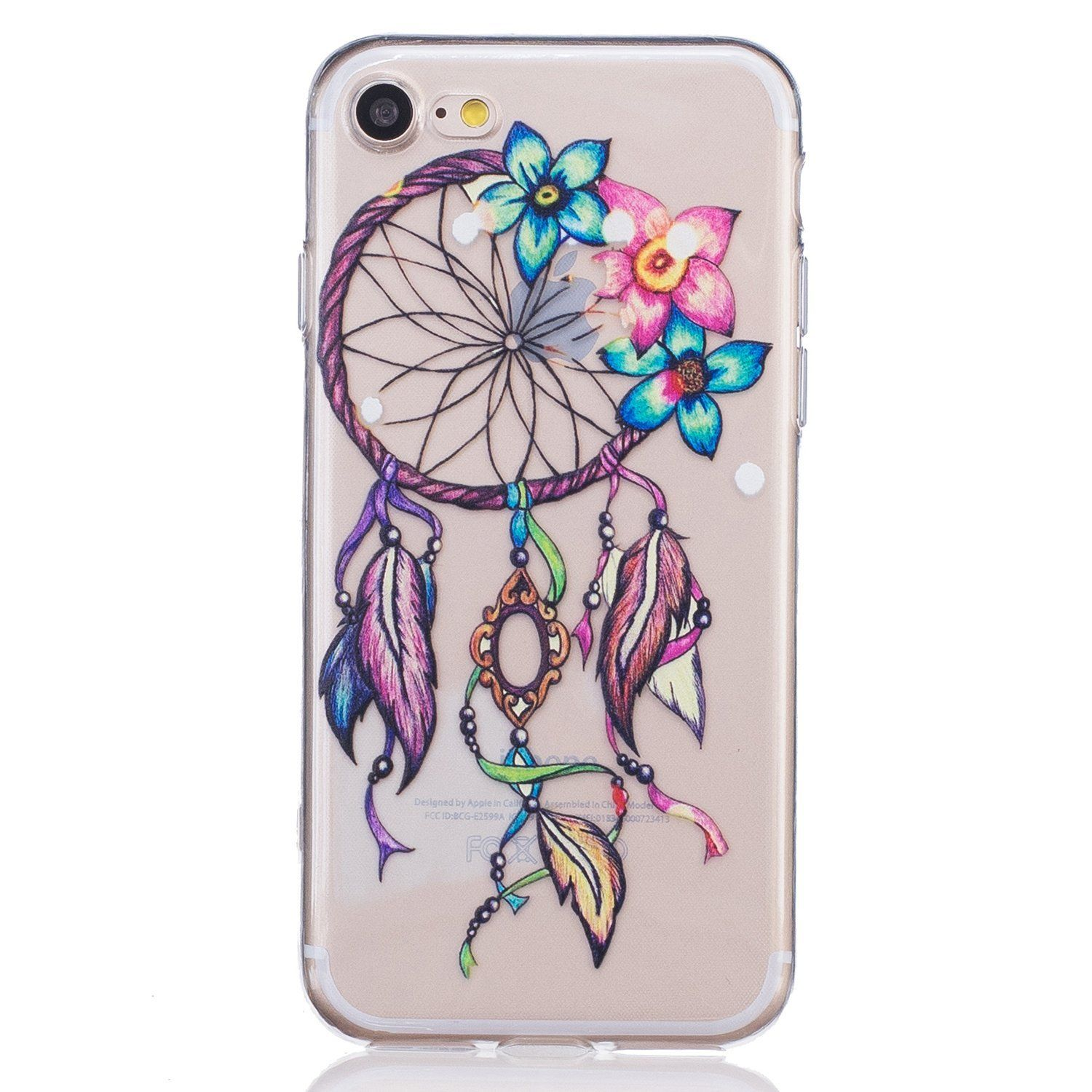 Urberry 4 7 INCH Iphone 7 Case Dream catcher Design Soft Silicon Flexible Case Cover