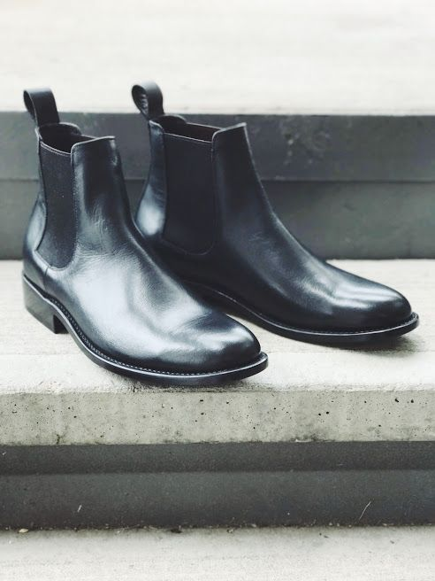 Leather Boots Men