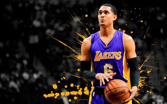 Download Wallpapers Jordan Clarkson 4k Basketball Players NBA Los Angeles Lakers