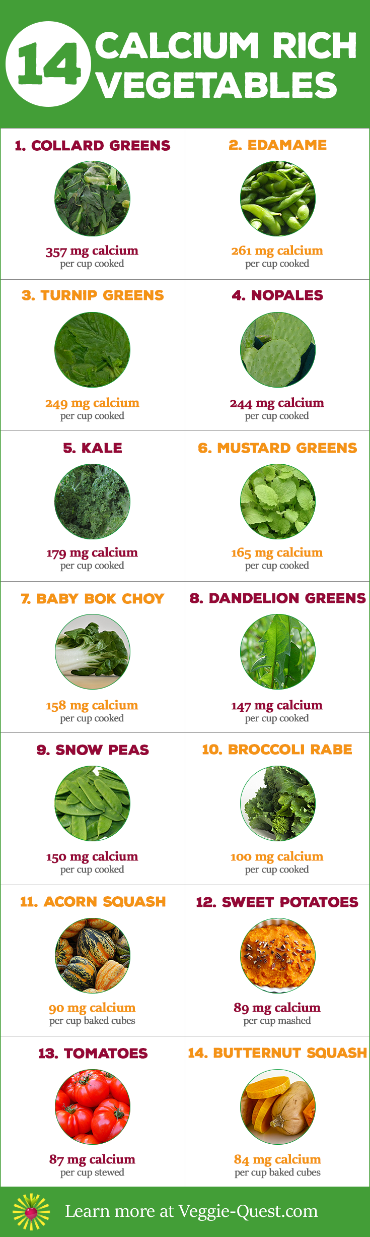 Getting DairyFree calcium is easy with these 14 Calcium