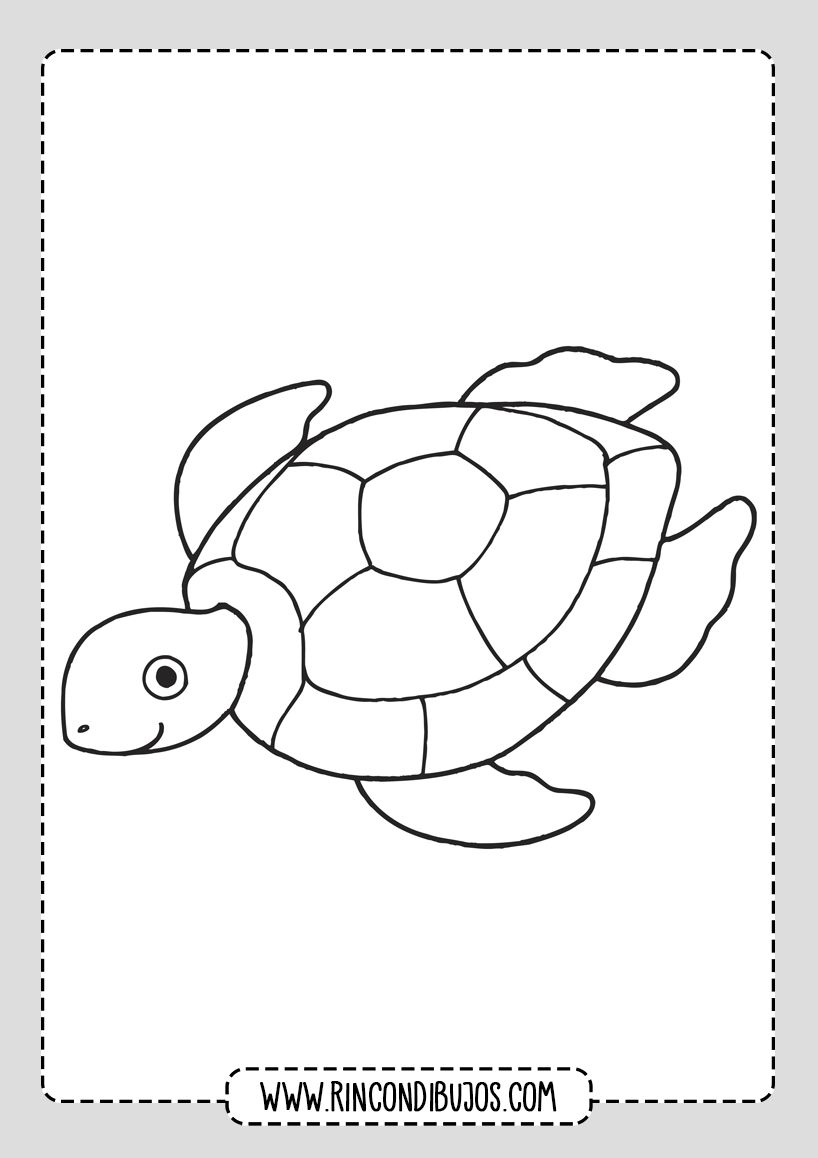 Dibujos De Tortugas Marinas Para Colorear Rincon Dibujos En 2020 Dibujo De Tortuga Tortuga Para Colorear Arte De Tortugas Marinas
