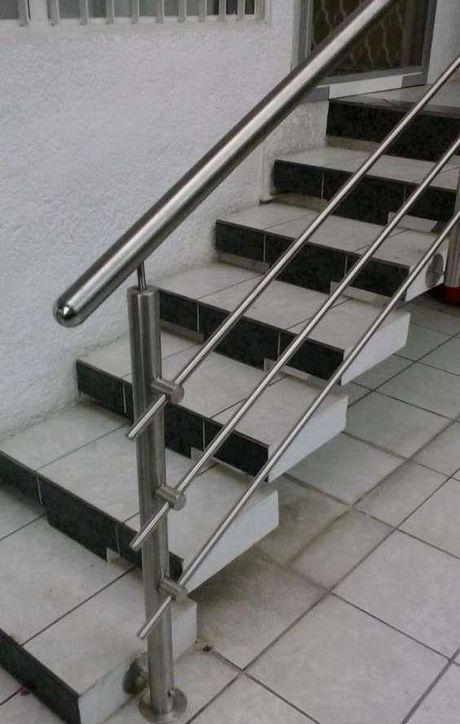20 Modern Stainless Steel Stair Railing Design Ideas Stainless Steel Stair Railing Steel Stair Railing Steel