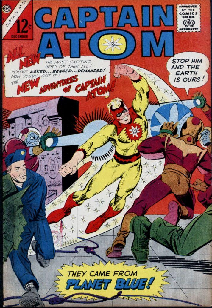 Capatom78 Jpg 712 1031 Charlton Comics Comics Midtown Comics
