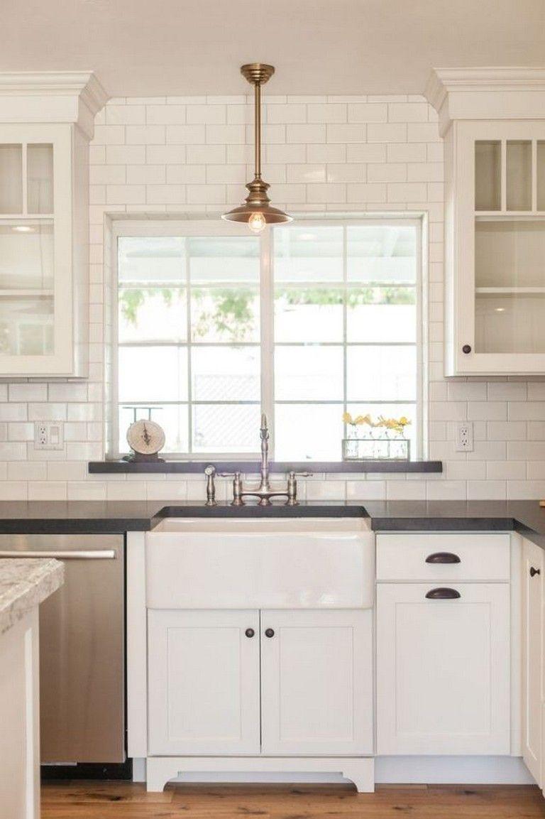 70 Stunning White Cabinets Kitchen Backsplash Decor Ideas Modern Valances Kitchen Valances New Kitchen Cabinets