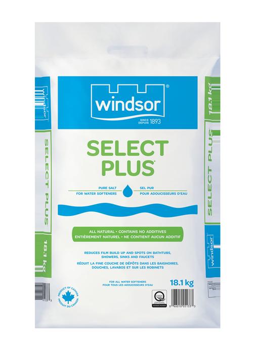 Select Plus Salt for Water Conditioning Windsor Salt