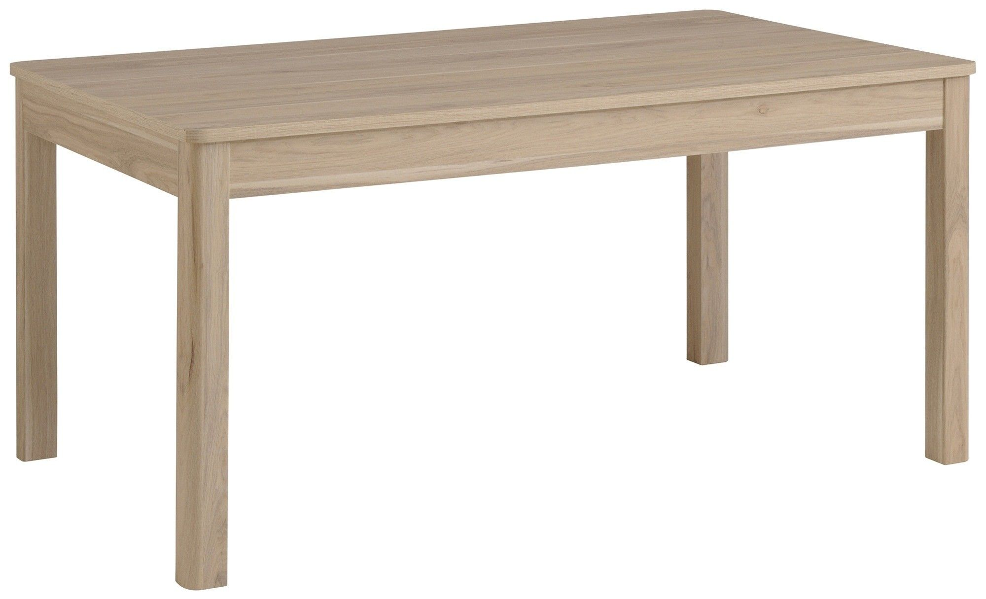 Table WARREN en chªne silex 160x88 cm pour 6 personnes avec une