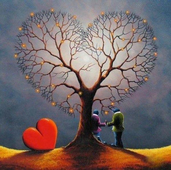 LE COFFRE AUX IMAGES | Comment peindre, Image coeur, Image coeur amour