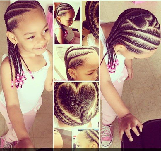 Fresh Natural Hairstyles for Kids with Short Hair