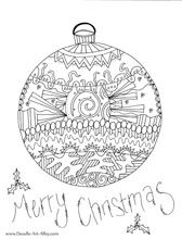 Doodle Art Gallery Tons Of Coloring Projects Christmas