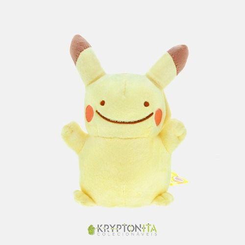 Pelúcia Pokémon - Pikachu Ditto 15cm