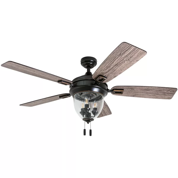 52 Digby 5 Blade Ceiling Fan With Pull Chain And Light Kit Included Ceiling Fan Ceiling Fan Light Kit Ceiling Fan With Light