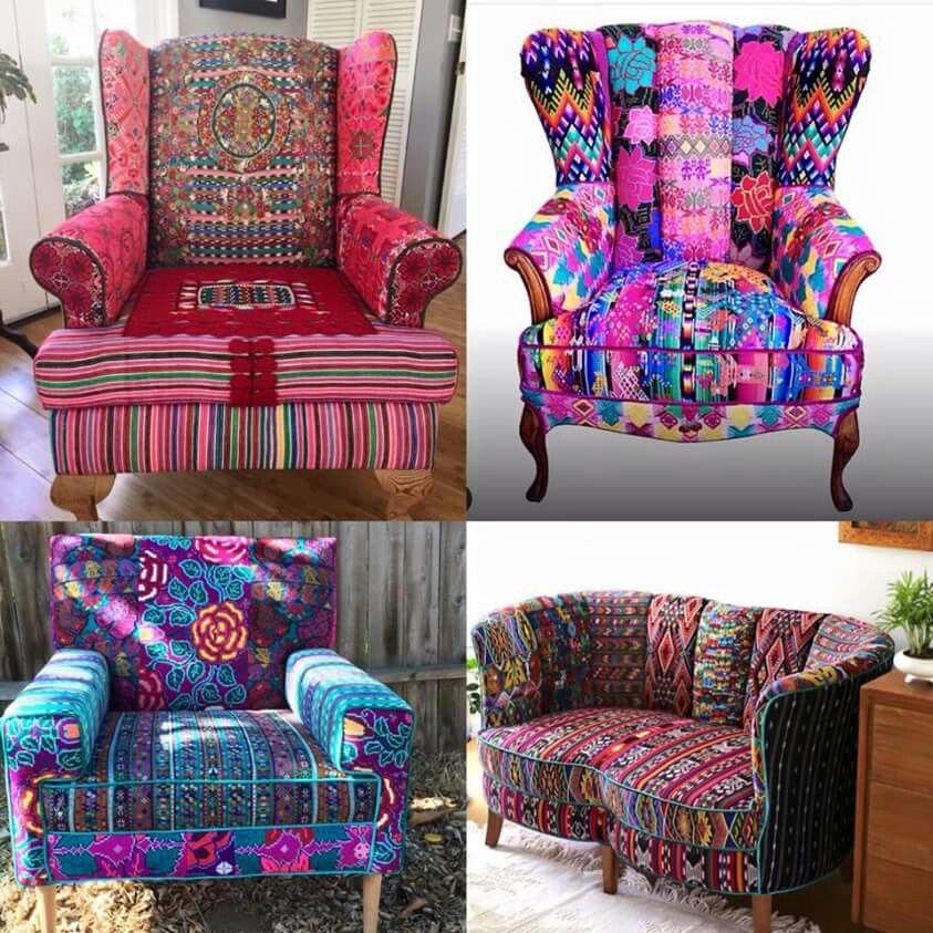 Trend Shake 40 Indigo Home Décor Ideas: American Hippie Bohéme Boho Lifestyle ☮ Chairs