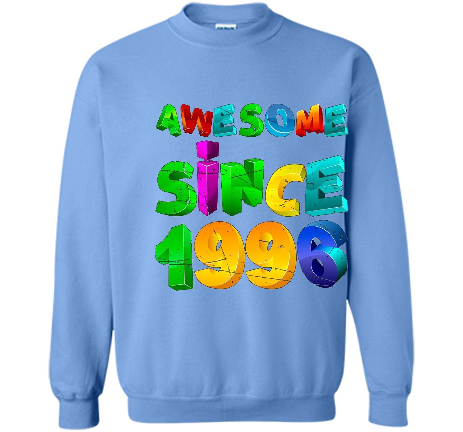3D Vintage awesome since Years 1996 Tshirt