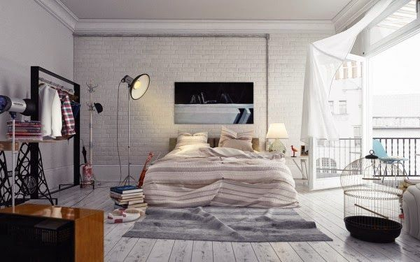 Raum, Wohnen, Weißes Schlafzimmer, Moderne Schlafzimmer, Moderner Dekor Für  Schlafzimmer, Moderne Einrichtung, Schlafzimmer Einrichtung, ...