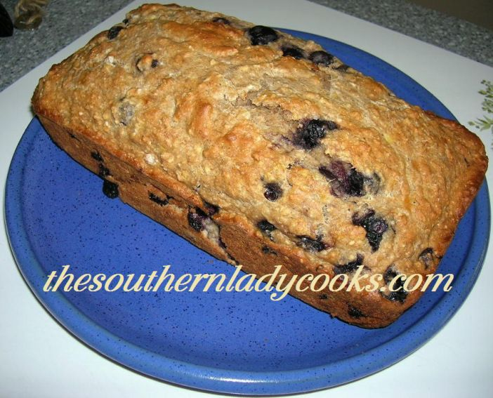 Blueberry banana bread fruity tootin pinterest blueberry blueberry banana bread the southern lady cooks forumfinder Image collections
