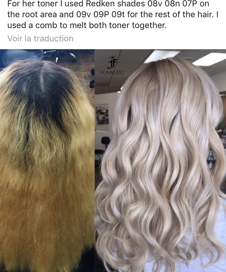 Icy Blonde Hair Color Formulas Icy Blonde Hair Toner For