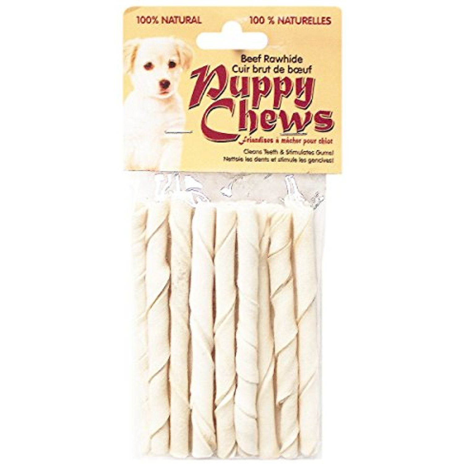 Funchew Pp 010871 Natural Flavor 5 Rawhide Puppy Or Small Dog