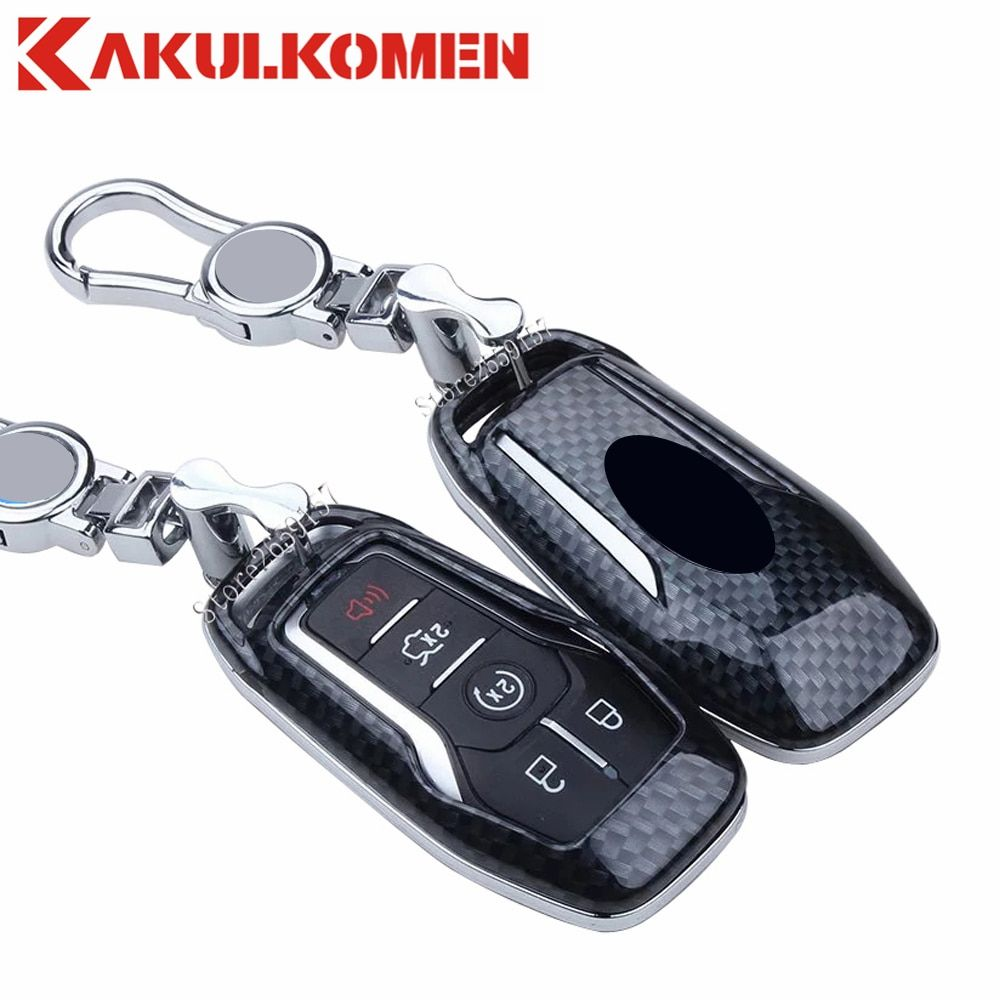 Good Signal Carbon Fiber For Ford Taurus Mustang Explorer Lincoln Mkc Mkx Mkz Car Styling Key Fob Cover Case Skin House 5 Button Review Ford Key Lincoln Mkc