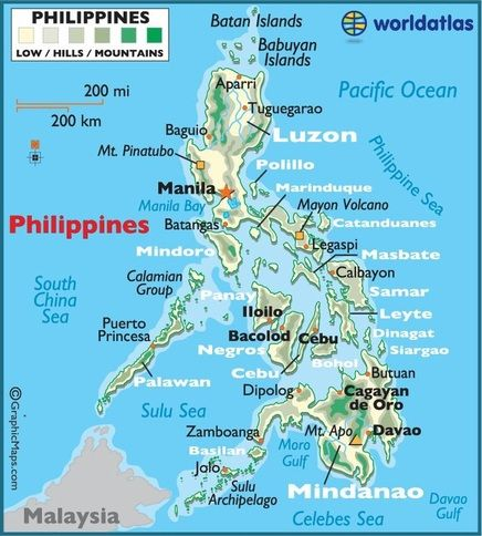 Image result for the philippines biomes map