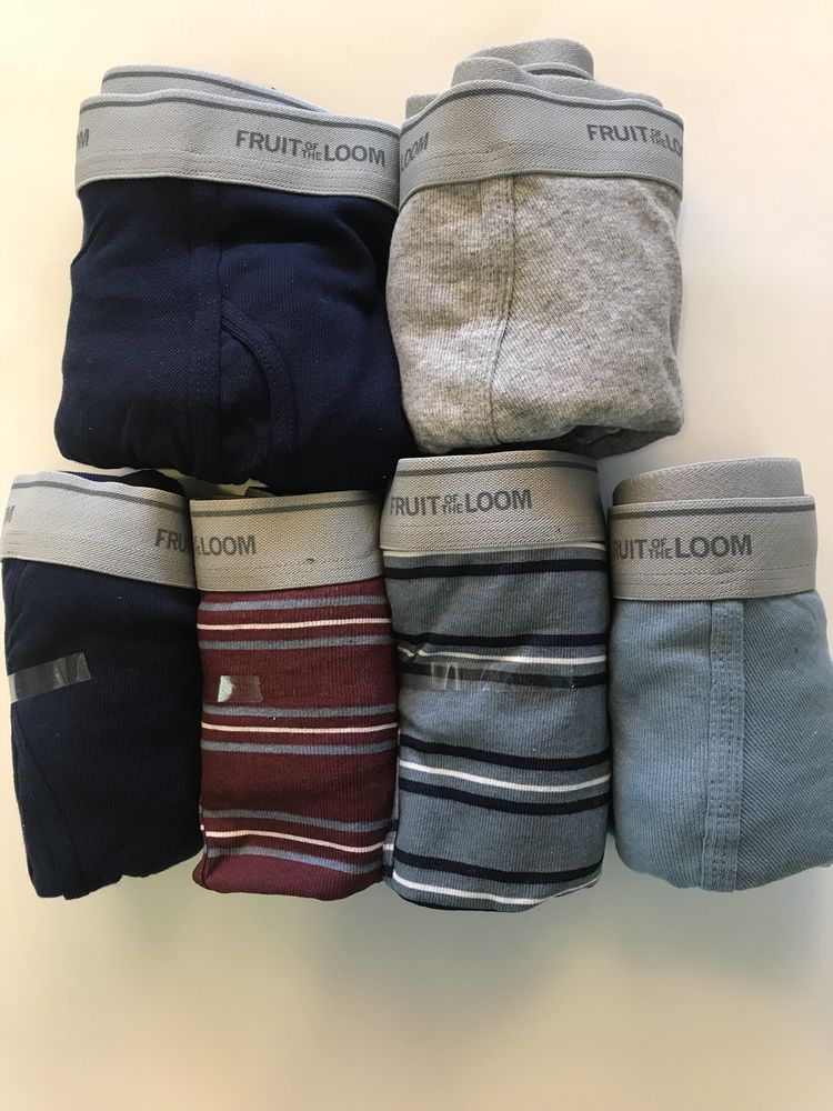 New Fruit Of The Loom Boxer Briefs Sz XL 4042 6 Pack