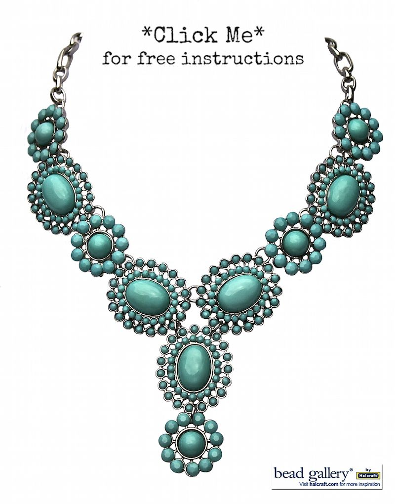 featuring the Turquoise Bloom Turquoise Bloom Necklace using ...