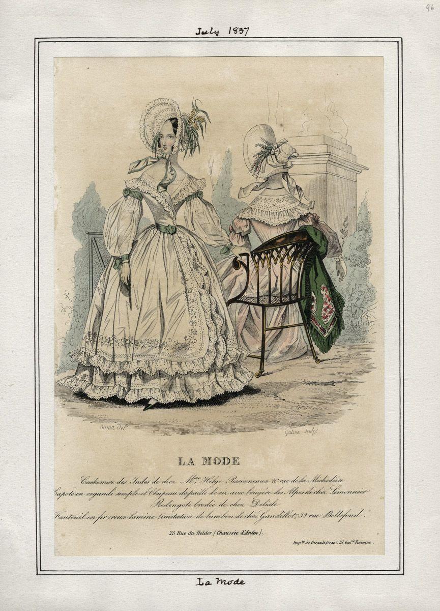 La Mode July 1837 LAPL