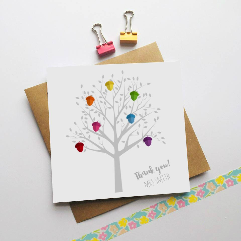 Personalise This Teacher Card To Create A Lasting Keepsake Crafts