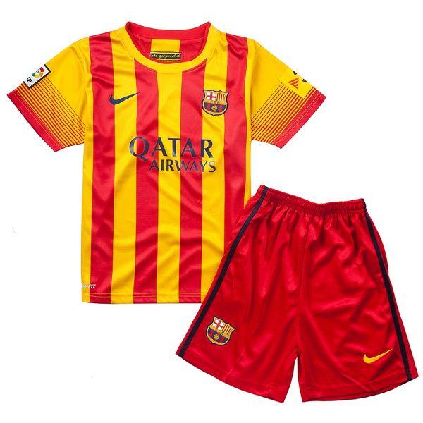 Camiseta Del Barcelona Nino Segunda Equipacion 2013 2014  fe61633a415