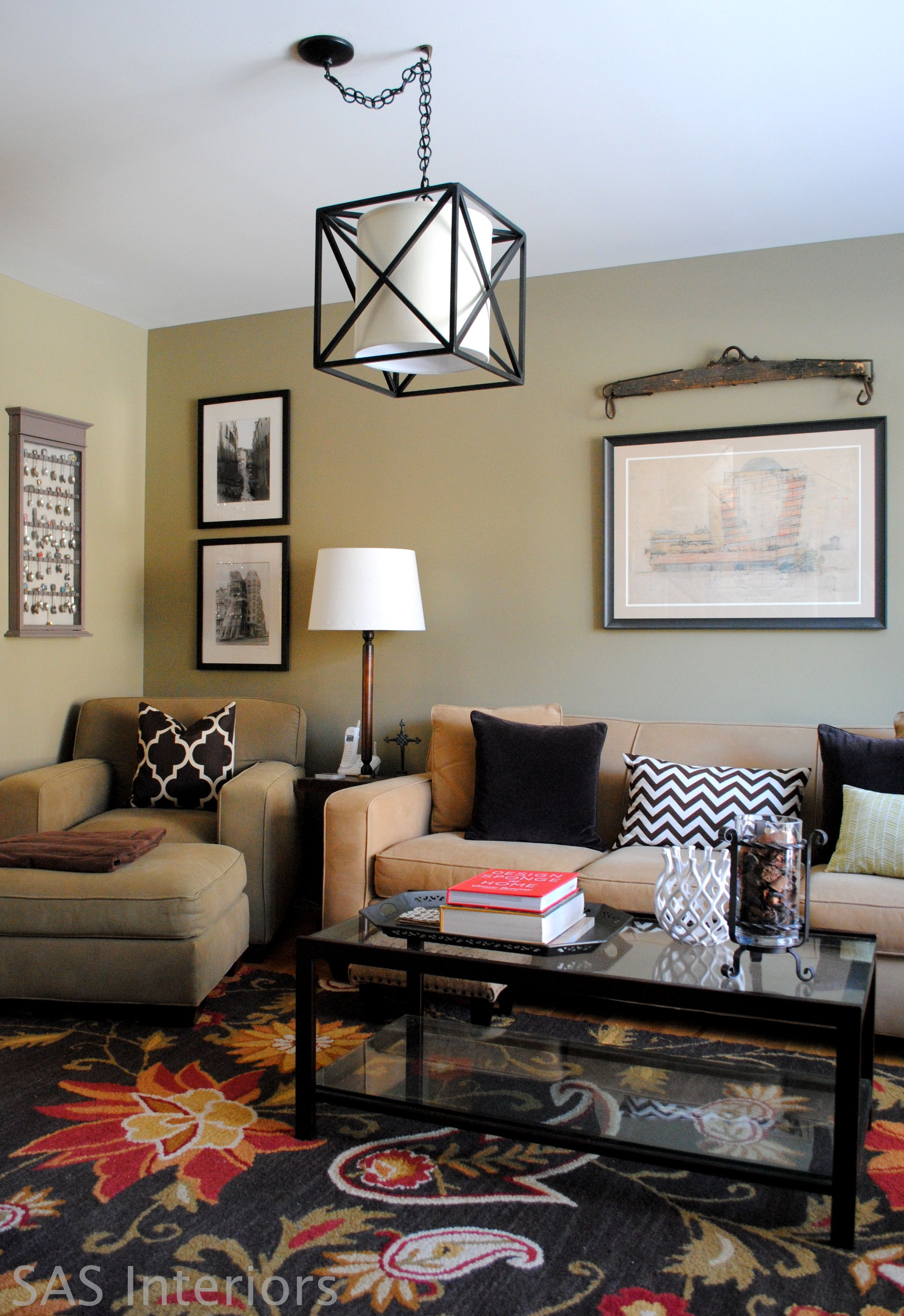 My Daring Design Decision and a Tour of My Front Room-Lots of great ...