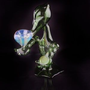 Smoked Out Pipes | Online Head Shop - 2012 Aztec Alien Hand Pipe , $89.99 (http://www.smokedoutpipes.com/2012-aztec-alien-hand-pipe/)