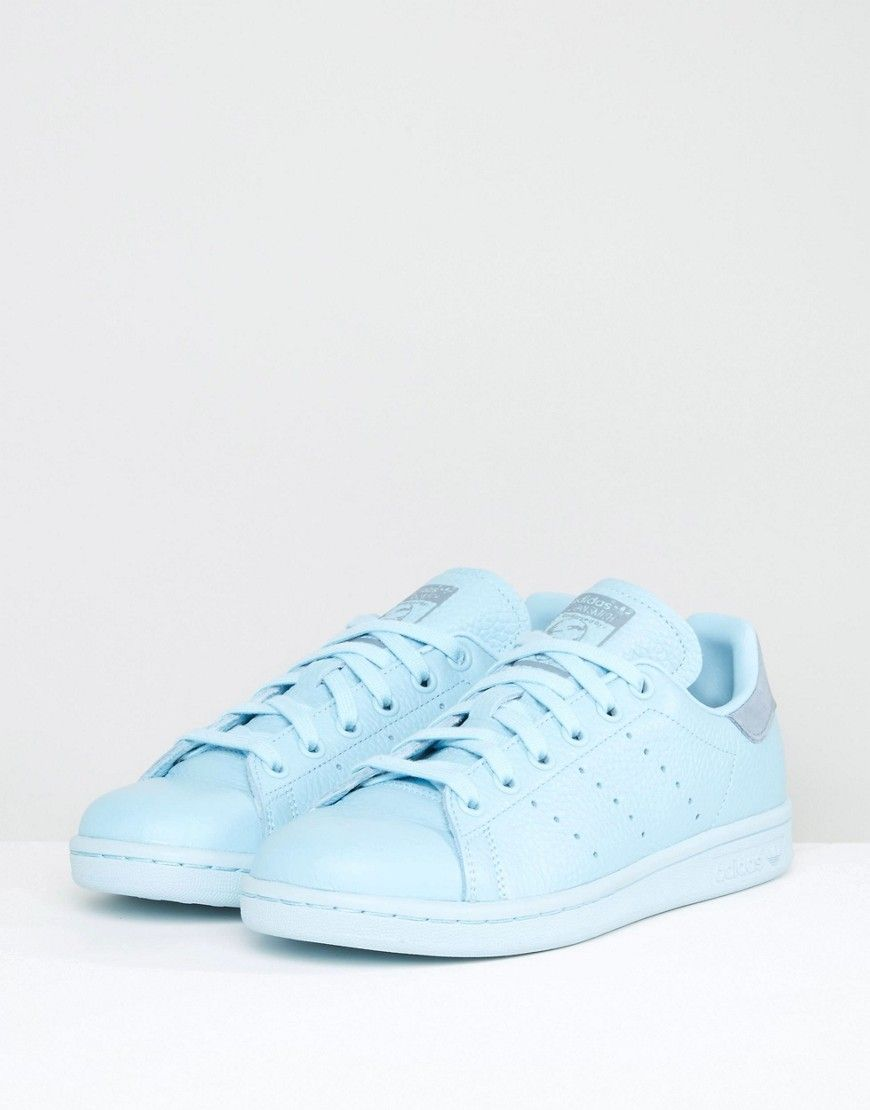 adidas Originals Icy Blue Stan Smith Sneakers - Blue