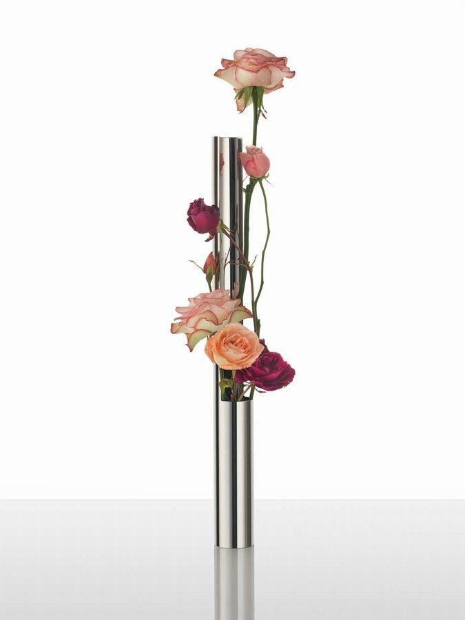 Alessi Flower Vase Tube Alessi Pinterest Flower Vases