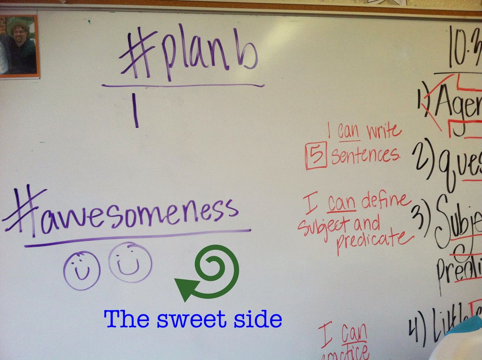 It's Always Sunny in Room 3: Classroom Management Middle School Style: #planB update