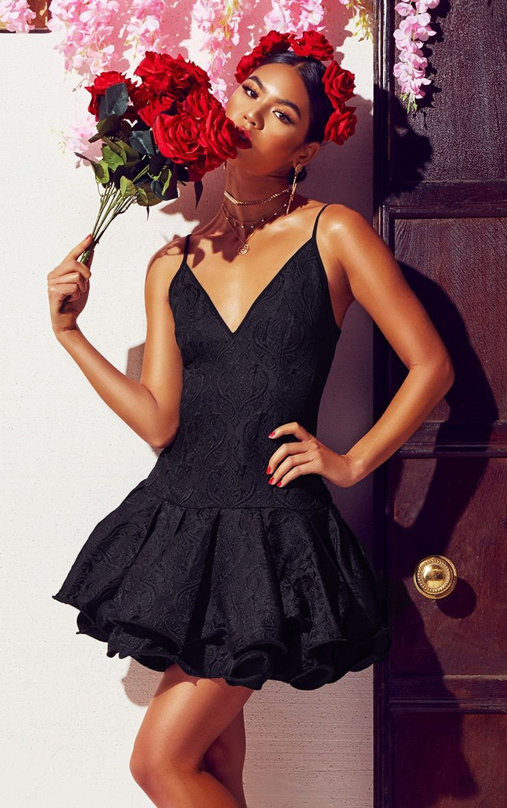 8d516c21e370a Black Halterneck Sequin Tassel Bodycon DressGirl get the celeb look in this halterneck  bodycon dr.