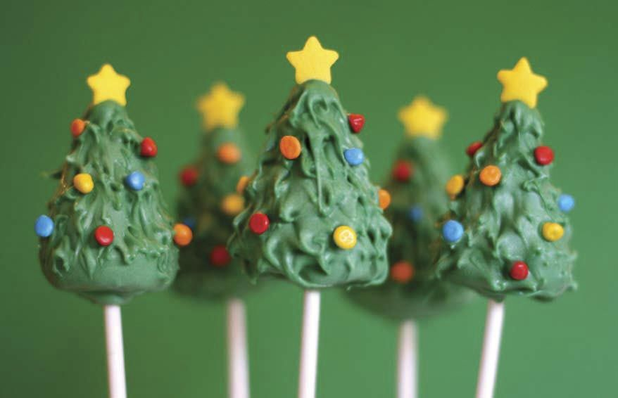 Find this Pin and more on Cakes u0026 desserts by kaprince1373. Christmas Tree with Ornaments u0026 Yellow Star Cake Pop & Photos+u0026+recipes+for+cake+pops | ... recipe for Christmas-inspired ...