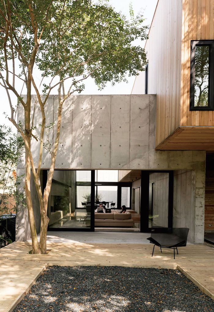 Minimal Concrete Box House By Robertson Design House