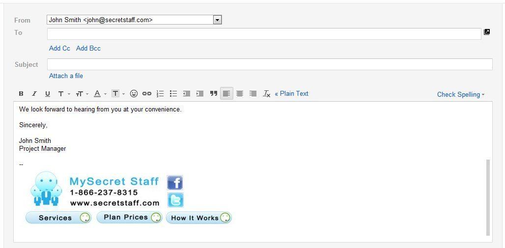 Professional Email Signature Student Professional Email Signature Email Template Business Email Signatures
