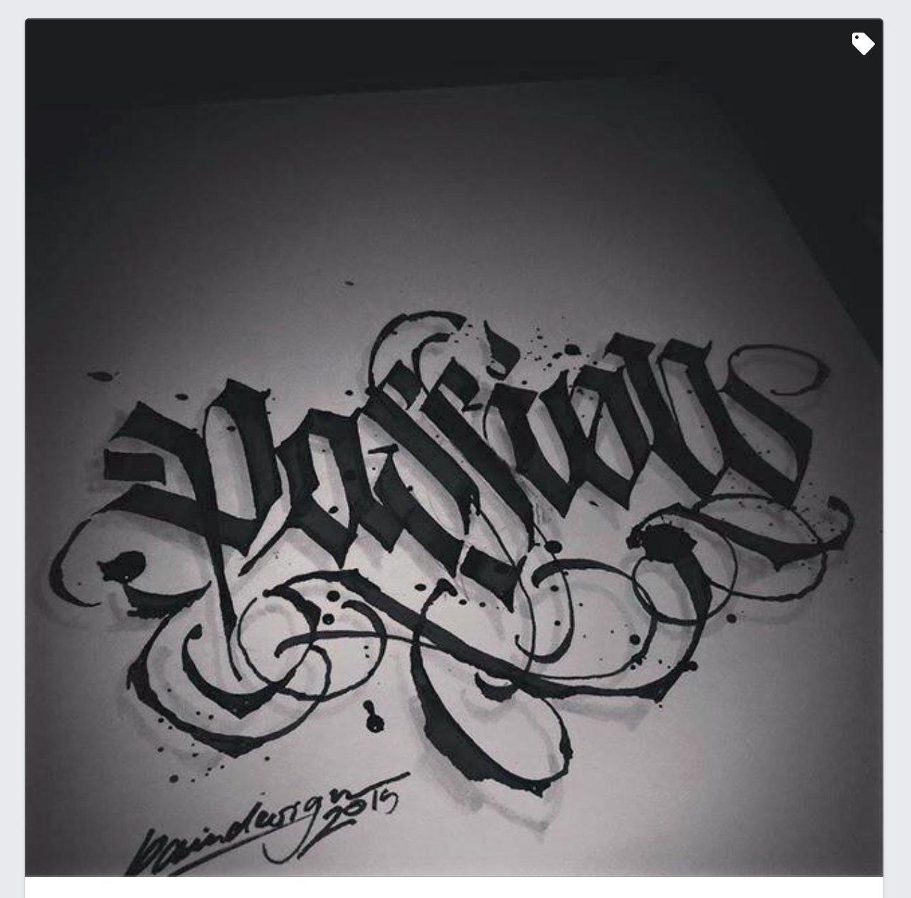 Calligraffiti In