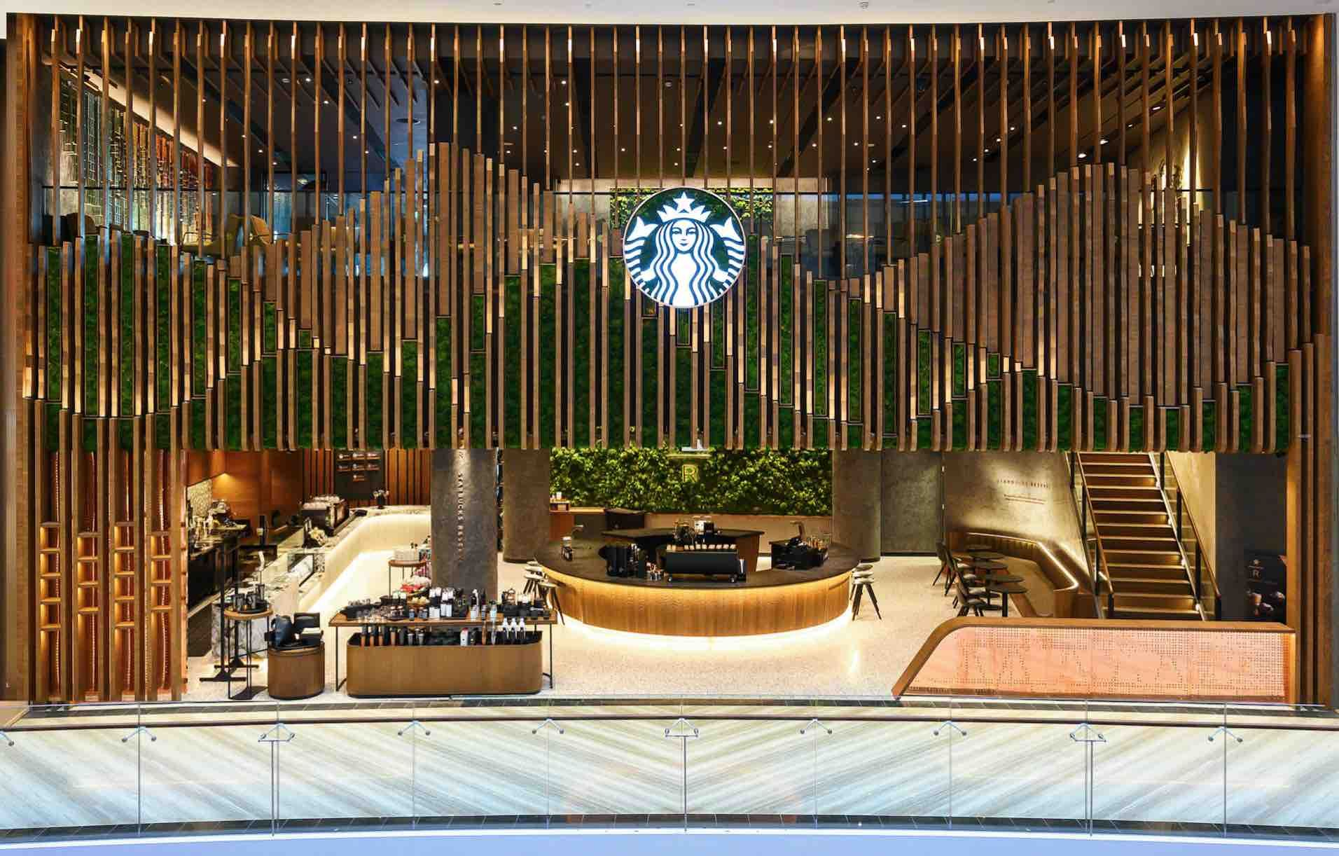 Starbucks Jewel Changi Airport Singapore Flagship With Local Surprises Changi Starbucks Changi Airport Singapore