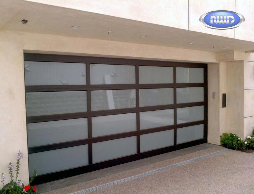Look At This Exciting Garage Door Before And After What An Artistic Design And Developme Garage Doors Contemporary Garage Doors Modern Garage Doors