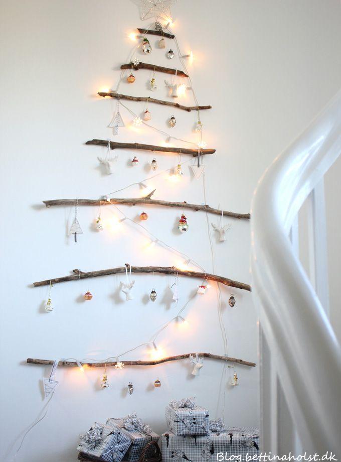 Blog DIY christmas tree postet on the